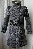 Пальто женское модное шикарное демисезонное р.44-46 4579 от Chek-Anka