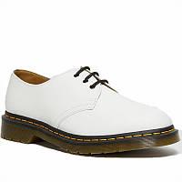 Мужские туфли кожаные оксфорды весенние-летние белые