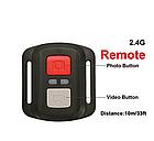 Екшн камера EKEN B5R з пультом і аквабоксом, фото 7