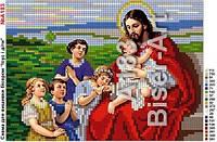"""Схема картини  """"Ісус і діти"""" №А183"""