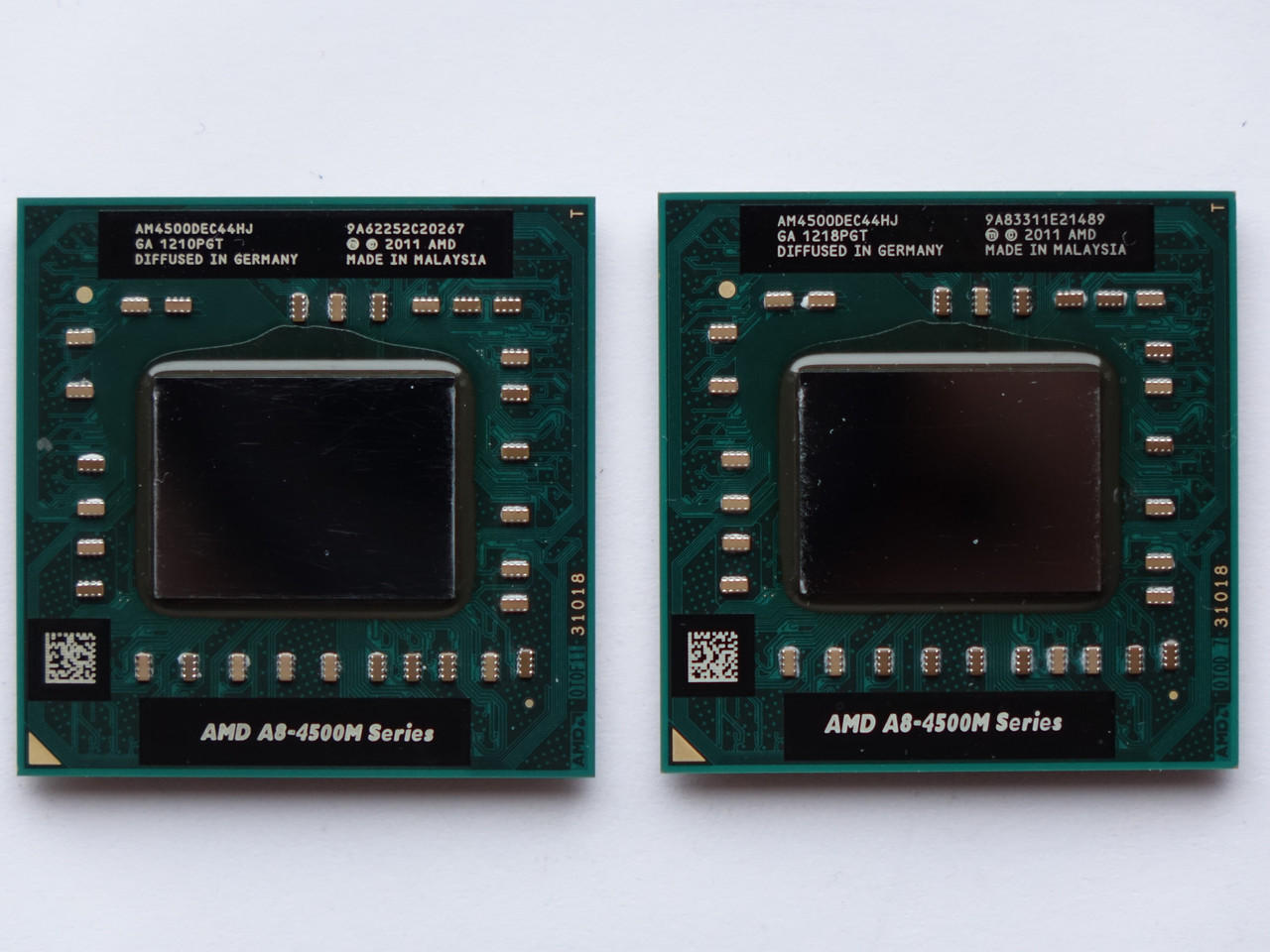 Процессор AMD A8-4500M (AM4500DEC44HJ) FS1r2, 4Mb Cache, 1.9-2.8GHz, 35W, 4 Ядра 8 Потоков + Radeon HD7640G БУ