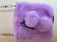 """Хутрова іграшка-сумочка """"З бомбонами"""" для найменших"""