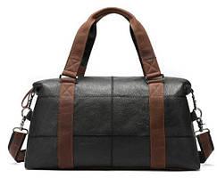 Дорожная сумка комбо Vintage 14773 Черная