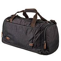 Дорожная сумка текстильная Vintage 20136 Черная