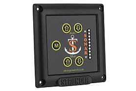Панель управления регулятором положения трансдьюсера  STRONGER