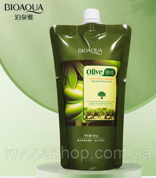 Маска для волос оливка Биоаква 400 грамм