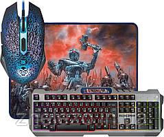 Клавиатура + мышь Defender Killing Storm MKP-013L Grey/Black (52013) USB