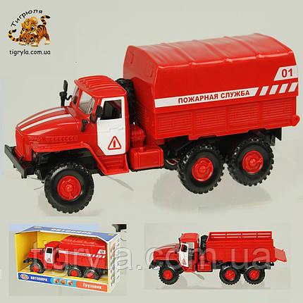 Пожарная машина на батарейках - автопарк, фото 2