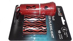Диспенсер-Led-ліхтарик зі змінними пакетів Animall (3 рулону за 15 пакетів) MA 6604 червоний