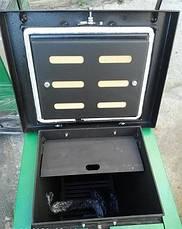 Шахтный котел Макситерм Шахта Люкс 30 кВт длительного горения 4 мм, фото 3