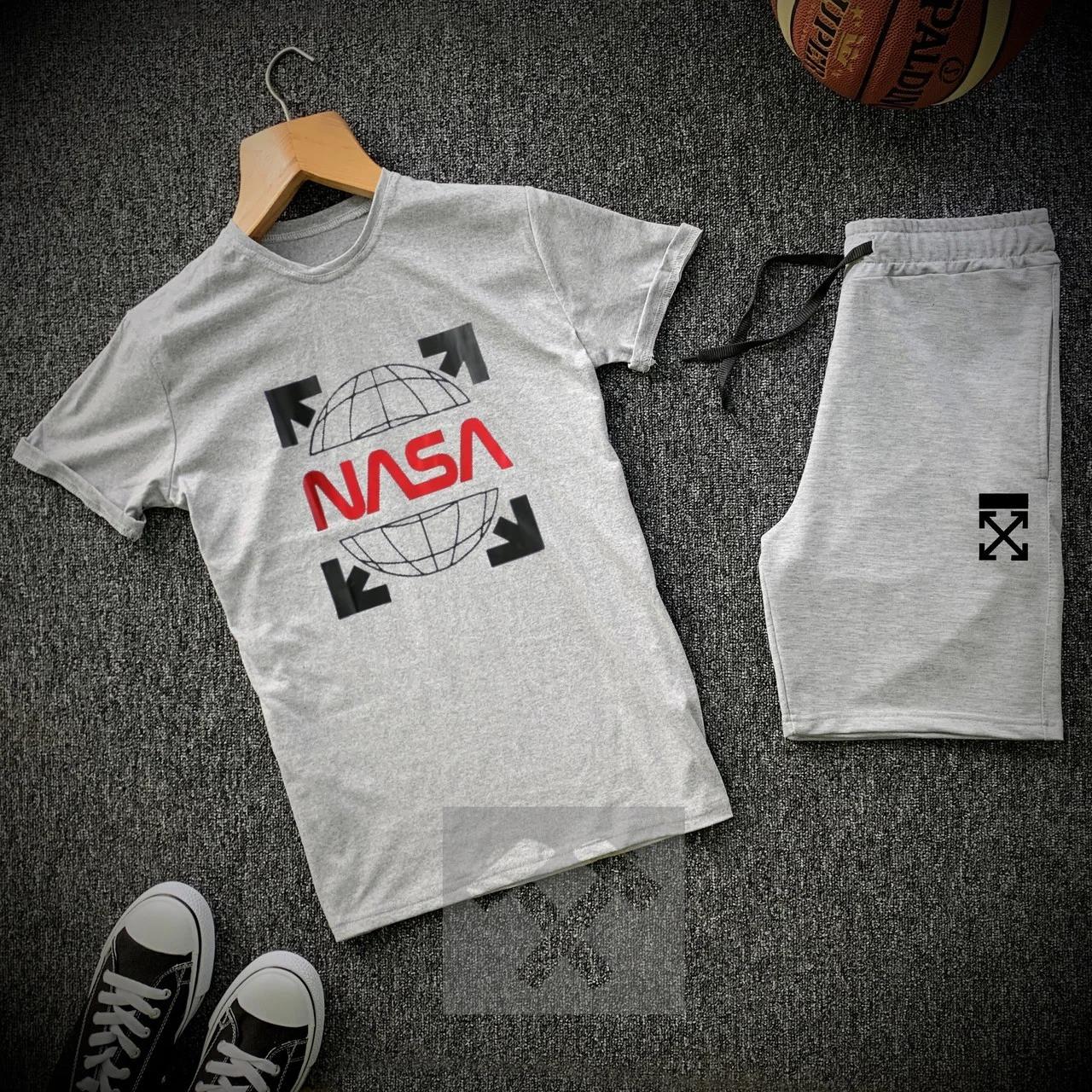 Футболка и шорты Nasa мужской комплект