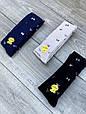 Колготы на подростков хлопок KBS с рисунком бантиков для девушек 6 шт в уп микс из 3х цветов, фото 5