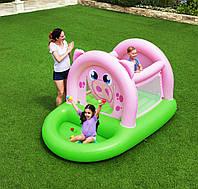 Bestway надувний батут 52345 «Свинка», 239*162*137 см, з кульками ( 15 шт.), фото 1