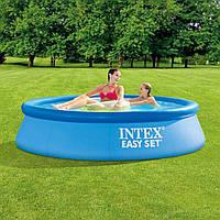 Семейный наливной бассейн 244*61см,  Intex 28106
