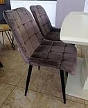 Стул N-46 коричневый вельвет (бесплатная доставка), фото 3