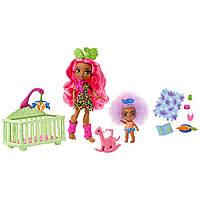 Игровой набор Пещерный клуб Детская комната Mattel Cave Club Wild About Babysitting