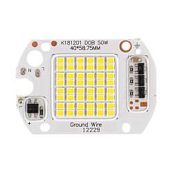 Світлодіодна матриця для LED 220В 50Вт 6000К