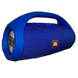 Колонка потужна Велика(30см) JBL BOOMBOX колір: Синій, акустика блютуз, бездротова колонка велика