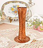 Старая медная ваза ручной работы, ваза из меди, Германия, 20 см, фото 2