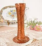 Старая медная ваза ручной работы, ваза из меди, Германия, 20 см, фото 3