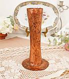 Старая медная ваза ручной работы, ваза из меди, Германия, 20 см, фото 4