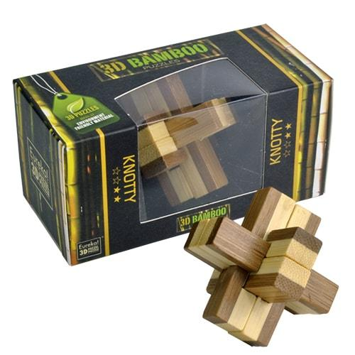 Вузол | Knotty Puzzle 3D Bamboo