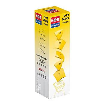 Geomag KOR Cover Yellow | Магнітний конструктор Геомаг Кор жовтий