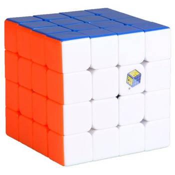 YuXin Blue 4x4 stickerless Кубик Юксин 4х4