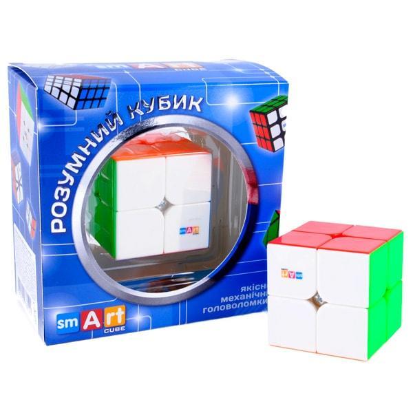 Smart Cube 2х2 Stickerless | Кубик 2х2х2 Без наклейок