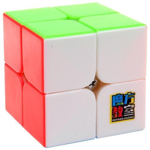 MoYu MoFangJiaoShi 2x2 MF2s Color   Кубик 2x2 МФ2 без наклеек