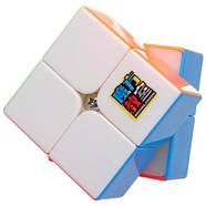 MoYu MoFangJiaoShi 2x2 MF2s Color   Кубик 2x2 МФ2 без наклеек, фото 2