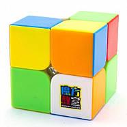 MoYu MoFangJiaoShi 2x2 MF2s Color   Кубик 2x2 МФ2 без наклеек, фото 5