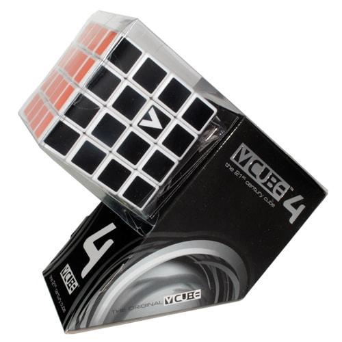V-CUBE 4х4   Кубик 4х4 білий плоский
