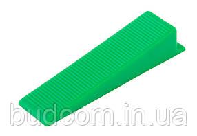 Клин MAXI система выравнивания плитки 50 шт MASTERTOOL 81-0501