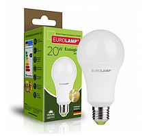 Классическая светодиодная EUROLAMP Лампа ЕКО А75 20W E27 3000K