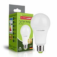 Классическая светодиодная EUROLAMP Лампа ЕКО А75 20W E27 4000K