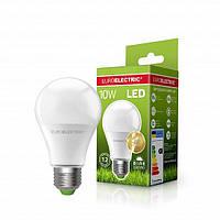 Светодиодная EUROELECTRIC Лампа A60 10W E27 4000K