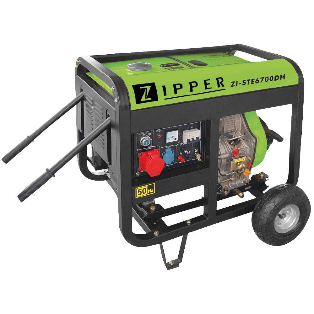 Дизельний генератор Zipper ZI-STE6700DH