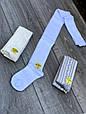 Підліткові колготи бавовна KBS ажурні для дівчат 11 років 6 шт. в уп. мікс із 3х кольорів, фото 3
