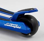 Самокат Lamborghini (ліцензія) триколісний дитячий LB-20300 складаний, фото 6