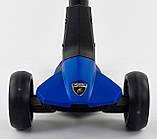 Самокат Lamborghini (ліцензія) триколісний дитячий LB-20300 складаний, фото 5