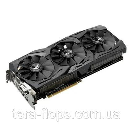 Видеокарта GTX 1070 8GB Asus Rog Strix Gaming (ROG-STRIX-GTX1070-O8G-GAMING) Б/У, фото 2