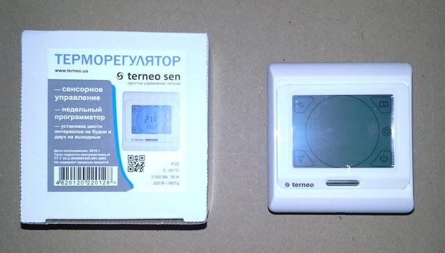 Сенсорный термостат Terneo Sen