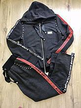 Fashion костюм жіночий M(р) темно-сірий 3008-17-009 AMN Туреччина Осінь