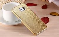 Золотой чехол для Samsung Galaxy S6, фото 1