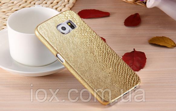 Золотой чехол для Samsung Galaxy S6