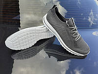 Мужские кроссовки в стиле ADIDAS STREET великаны батал большие размеры ткань сетка