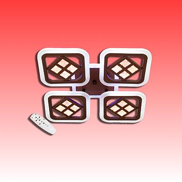 Люстра AS8190/4GR LED 3color dimmer (Серый) 95W