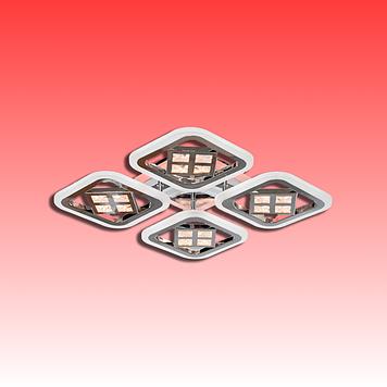 Люстра AS8190/4CF LED 3color dimmer (Коричневый) 95W