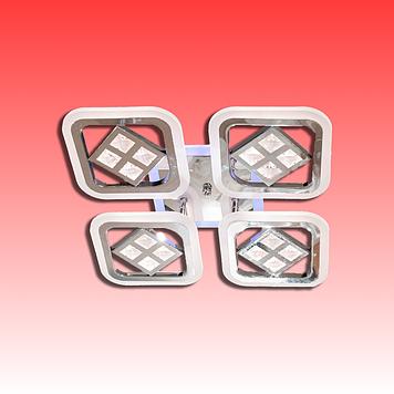 Люстра AS8190/4BK LED 3color dimmer (Черный) 95W